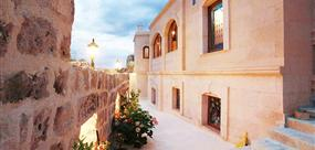 Blue Valley Cave Hotel eski Nevşehir Kapadokya