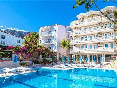 Habesos Hotel Antalya Kaş Küçük Çakıl Plajı