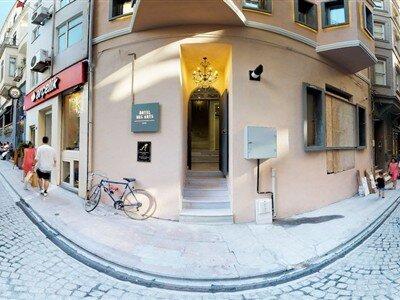 Hotel Des Arts Galata İstanbul Beyoğlu Galata
