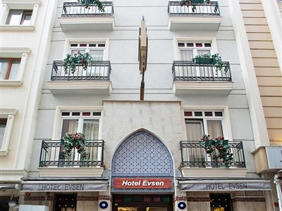 Hotel Evsen İstanbul Fatih Sirkeci