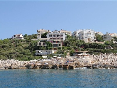Korsan Ada Hotel Kaş Antalya Kaş Çukurbağ Yarımadası
