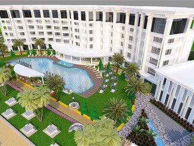 Marvista Deluxe Resort Hotel & Spa Mersin Silifke Yeşilovacık
