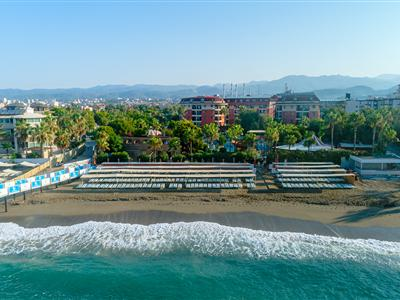 Palmeras Beach Hotel Antalya Alanya Konaklı