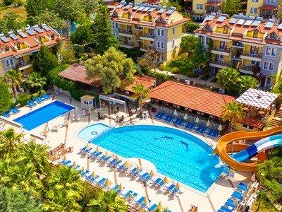 Perdikia Hill & Family Hotel Muğla Fethiye Ovacık
