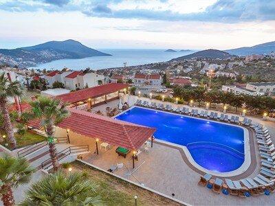 Samira Resort Hotel & Aparts & Villas Antalya Kalkan Kışla