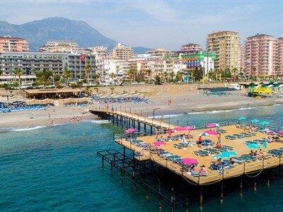 Senza Grand Santana Hotel Antalya Alanya Mahmutlar