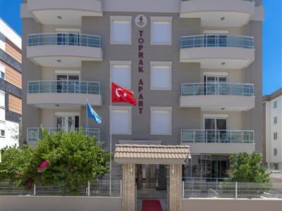 Toprak Apart Otel Antalya Muratpaşa Kızıltoprak