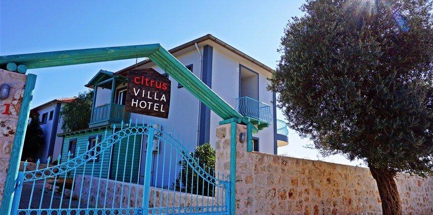 Citrus Hotel & Villa Antalya Kaş