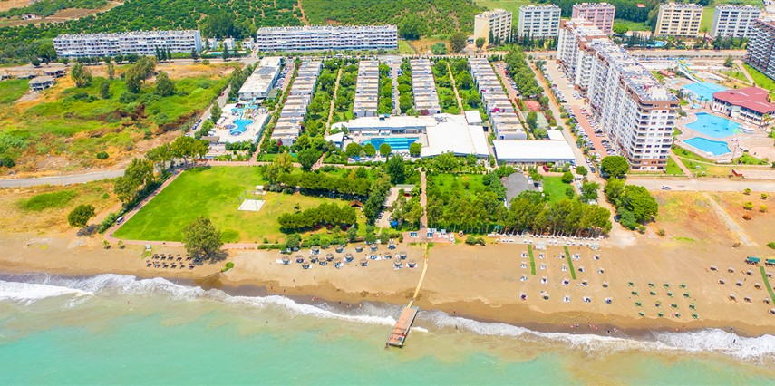 Doramar Resort & Aqua Tatil Köyü Mersin Erdemli