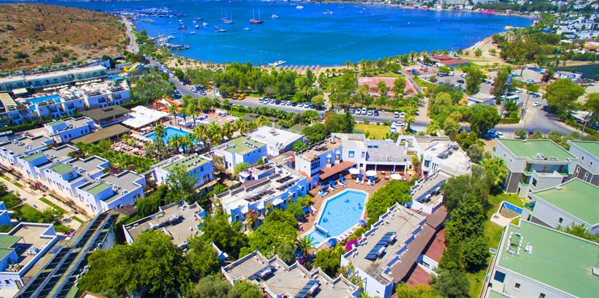 Flora Hotel Bodrum Muğla Bodrum