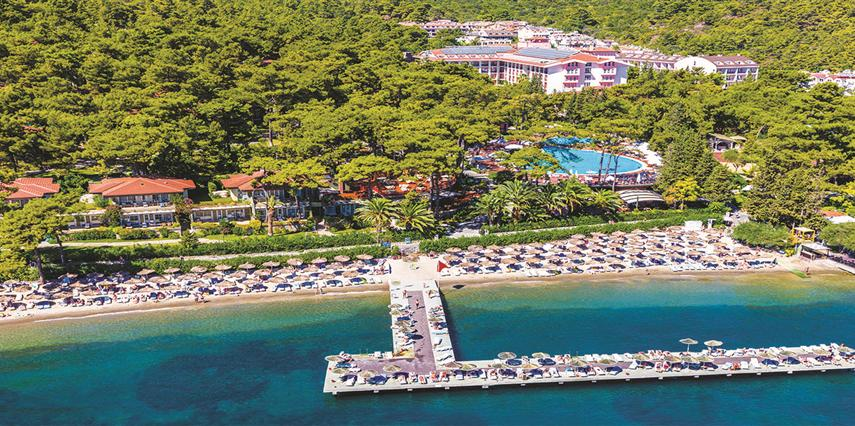 Grand Yazıcı Club Turban Thermal Hotel Muğla Marmaris