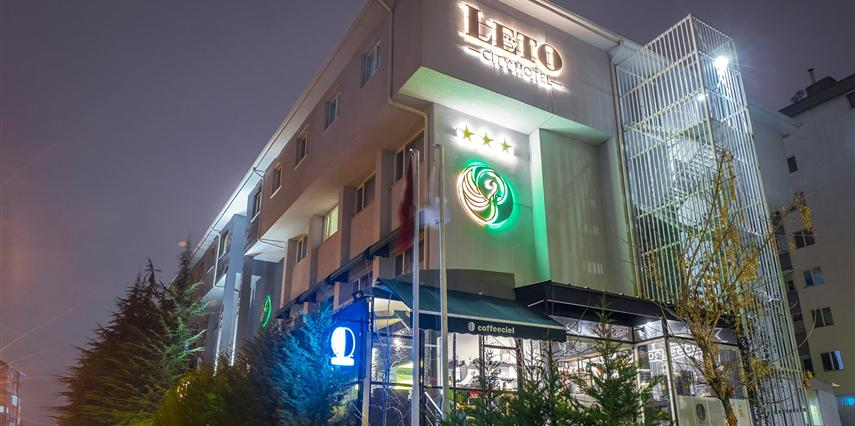 Leto City Hotel Eskişehir Odunpazarı