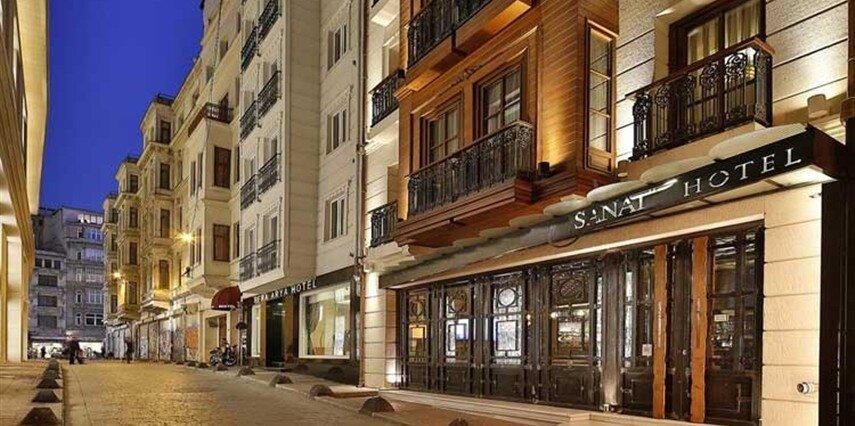 Sanat Hotel Pera İstanbul Beyoğlu