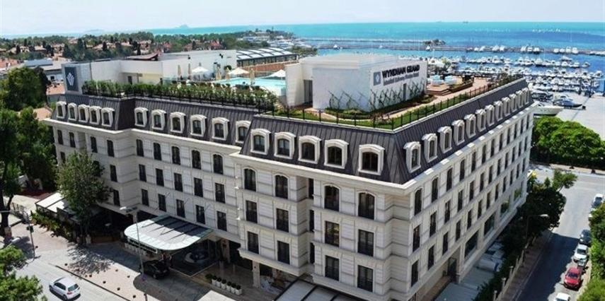 Wyndham Grand İstanbul Kalamış Marina Otel İstanbul Kadıköy