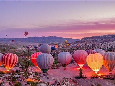 29 Ekim Özel Uçaklı Kapadokya Kayseri Turu / 2 Gece Otel Konaklaması