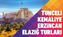 Tunceli Kemaliye Erzincan Elazığ Turları