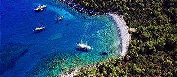 Bodrum Kuzey Oniki Adalar Bodrum Mavi Yolculuk Yat Turu