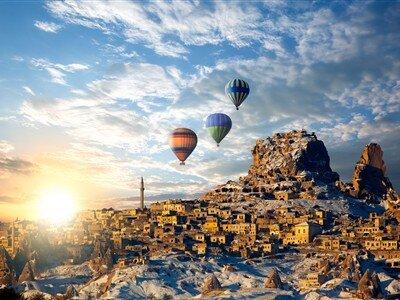 Eskişehir Çıkışlı Kapadokya Turu / Cuma Akşamı Hareket 1 Gece Otel Konaklaması
