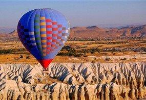 Uçaklı Kapadokya Turu / 1 Gece Otel Konaklaması