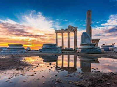 Pamfilya ( Antalya Olympos Kemer Alanya Side Kekova ) Turu / 4 Gece Otel Konaklaması