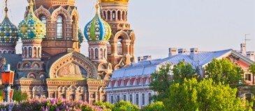 St Petersburg Turu 3 Gece 4 Gün Yılbaşı Özel