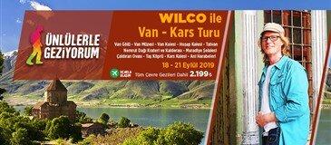 Wilco Van Herpen ile Uçaklı Van Kars Turu